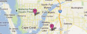 Interactive Google Map of Office Locations